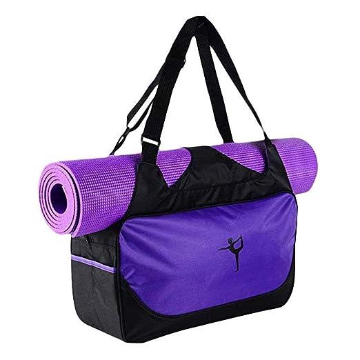 Tote Bag Yoga Mat Violeta, Portátil Duradero Multifuncional ...