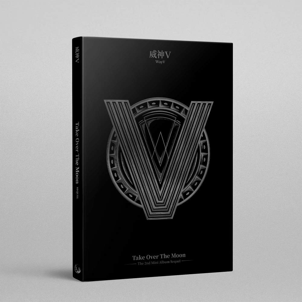 Take Over The Moon LABEL V WayV Sequel Album+Folded Poster+Extra Photocards Set
