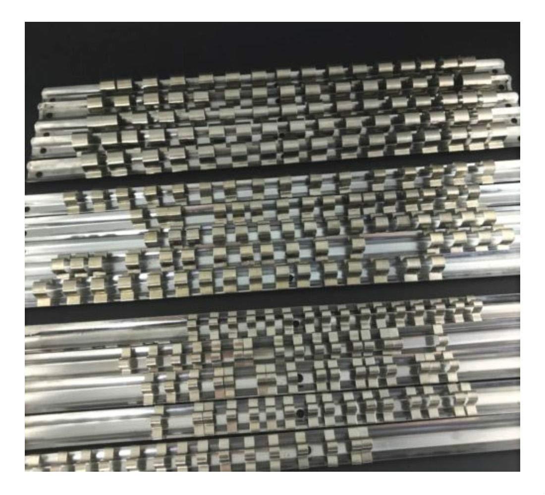 15pcs Socket Rails 1/4'' 3/8'' 1/2'' 16 Clip On Rail Tool Organizer Storage