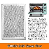 Beaquicy WB06X10309 Microwave oven Grease Filter