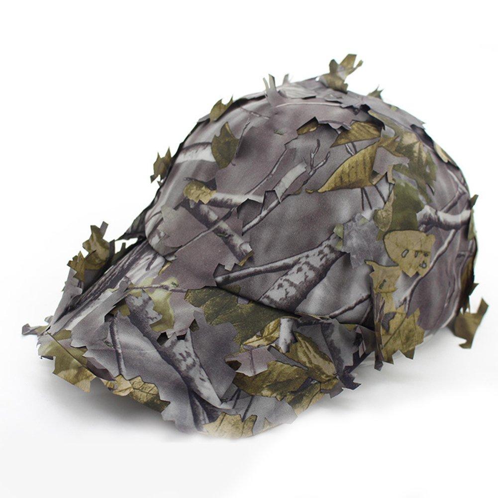 Casquettes Camouflage Formation militaire extérieure Jungle Sniper Chasse Parasol Casquette de Baseball Large Bord Chapeau Zantec