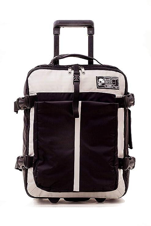 Maleta de Cabina Equipaje de Viaje de mano Maleta blanda de Nylon duffel para Ryanair Easyjet 55x35x20 Trolley Juvenil by TOKYOTO LUGGAGE 52cm Sof ...