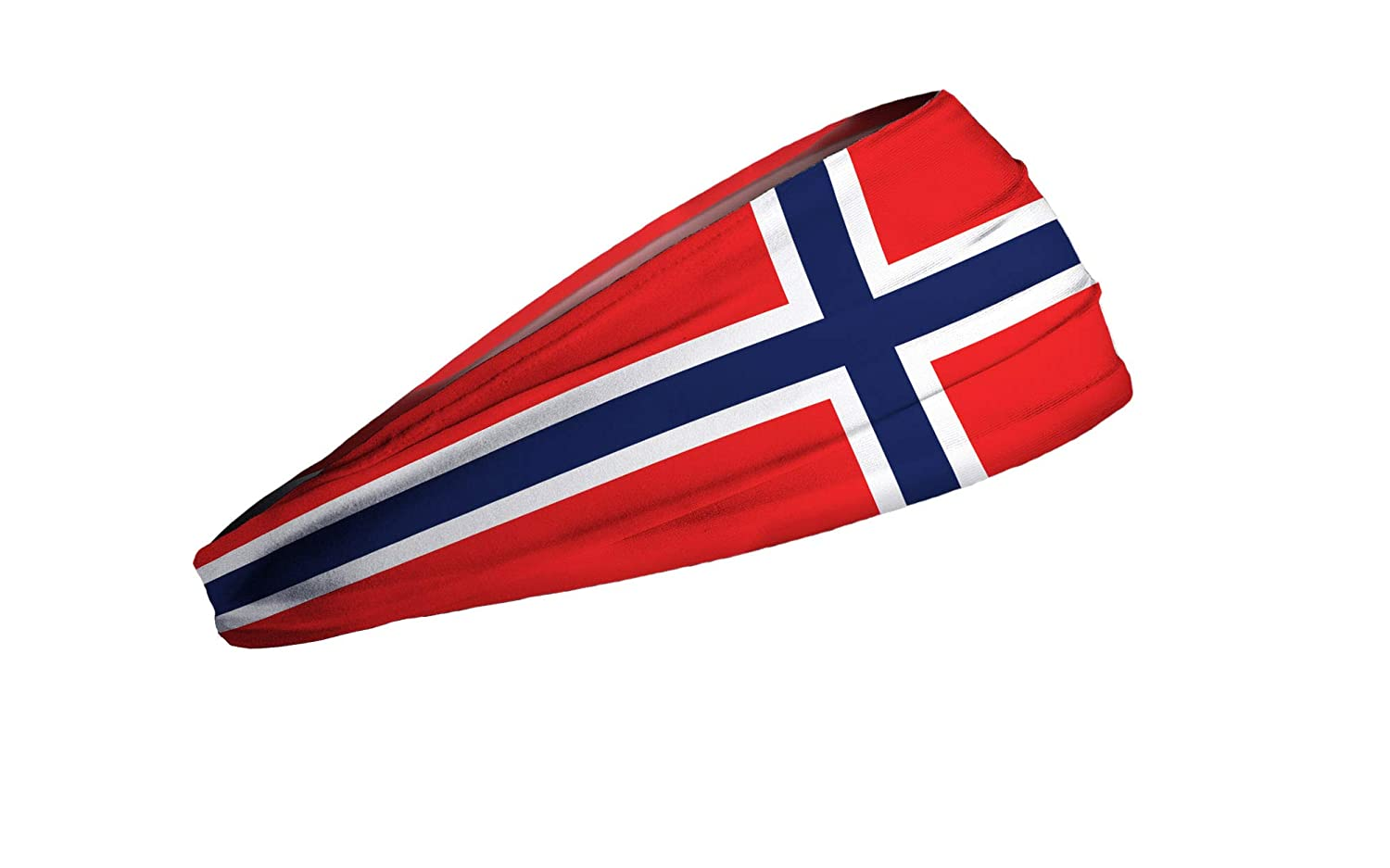rot JUNK Brands Norway Flag Big Bang Lite Headband Stirnband