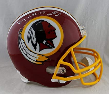 Amazon.com  Doug Williams Autographed F S Washington Redskins 82 ... c3986a20a