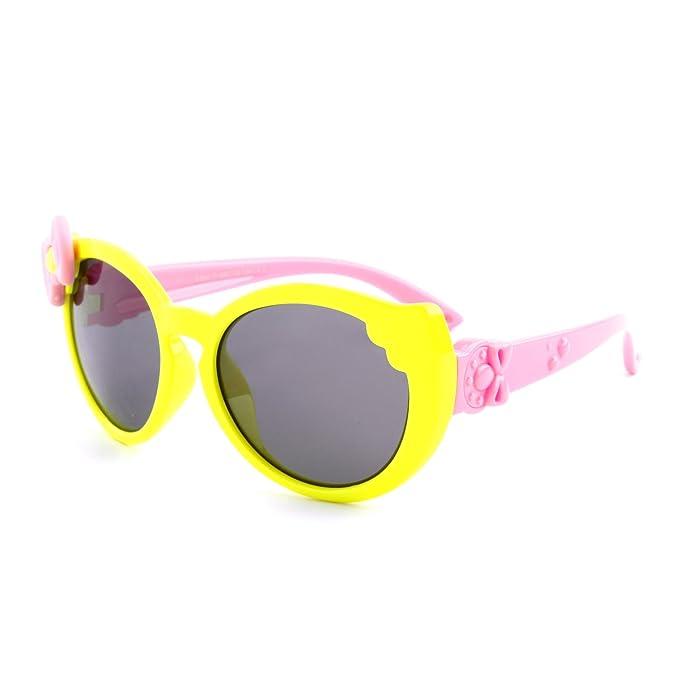 GQUEEN Gafas de sol polarizadas flexibles Linda de goma para ...