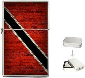 Trinidad and Tobago Flag Brick Wall Design Lighter