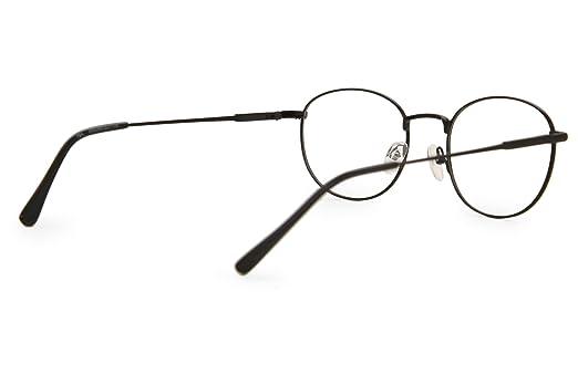 338ab714355e SmartBuy Collection Echo Unisex Prescription Eyeglass Frames - Full Rim  Round Designer Glasses Frame - Echo Black at Amazon Women's Clothing store: