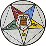 Custom Medallion Mosaic of The Masonic Eastern Star