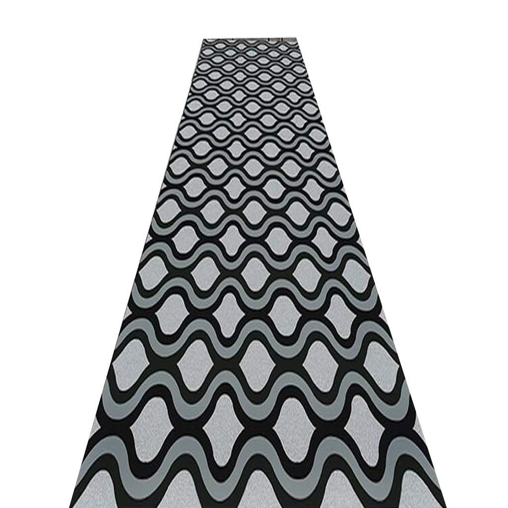 Mbd Simple Floor mat Corridor Custom Stair Living Room Kitchen and Entrance mat, Non-Slip mat Custom mat (Color : A, Size : 17m)