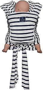 Hug A Bub Certified Organic Pocket Wrap Carrier - French Sailor Stripe