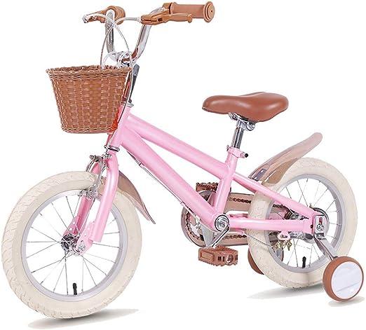 ZRZJBX Bicicleta Pedales para NiñOs Y NiñAs | Bici 14/16/18 ...