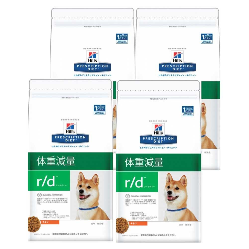 ヒルズ 犬用 r/d ドライ 3kg×4袋【ケース販売】 B00I7JCX4C