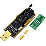Rasbee CH341A プログラミング器 BIOS FLASH 24 25 コピー器 USB メインボード ルート 1個 [並行輸入品]