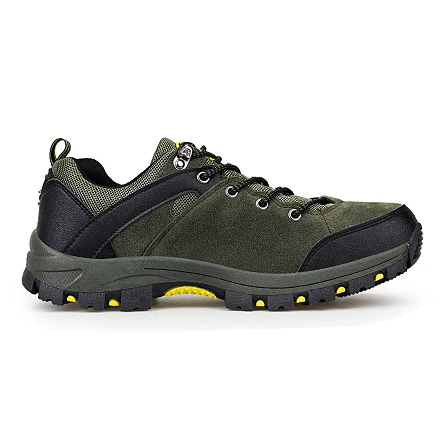Outdoor Sneakers Men's Low Top Trekking and Walking Shoes Lace Up:  Amazon.co.uk: Shoes & Bags