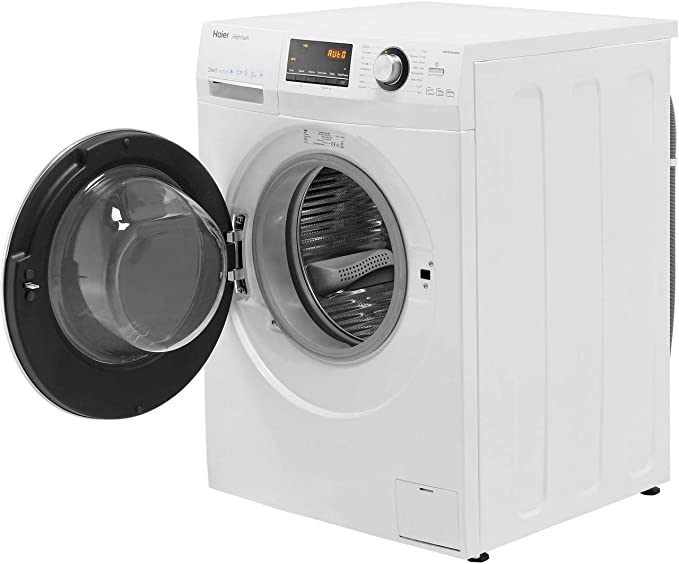 Haier HW100-B14636 A+++ Rated Freestanding Washing Machine - White [Energy Class A+++]
