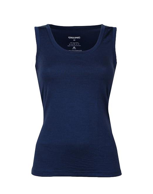 innovative design d818f 56b75 Dilling Thermo Unterhemd für Damen - aus 100% Merinowolle