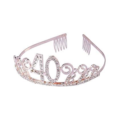 Tiaras y coronas de cristales de estrás para cumpleaños ...