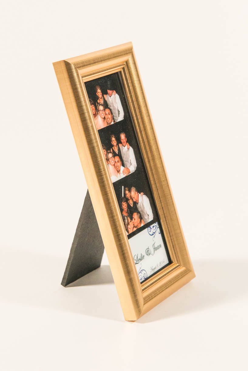 Premium Gold Photo Booth frame 2x6 Picture Perfect Supply PPSG26