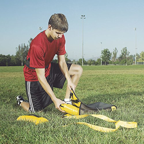 SKLZ Speedsac- Adjustable Weight Sled Trainer for Sprinters (10-30 lbs).