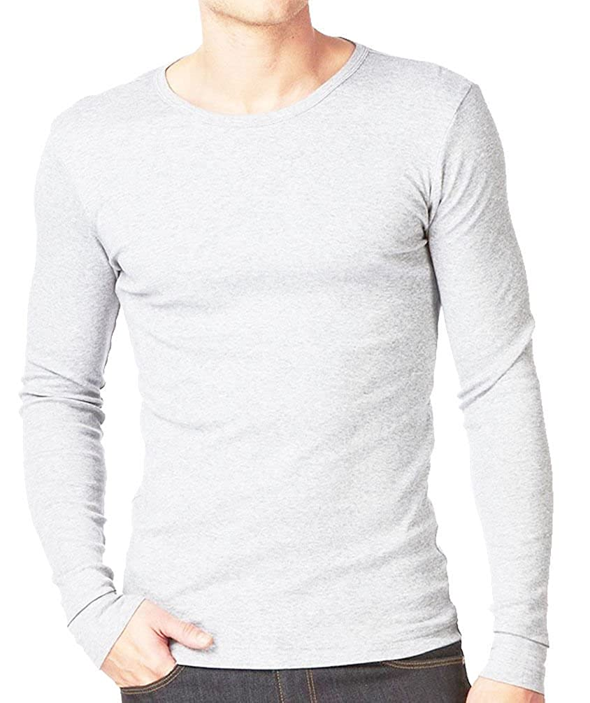 MB Quest-Mart/® Mens Thermal Underwear Long John Sleeve Baselayer Warm ski Top in Sizes S to 3XL
