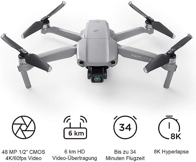 Dji Mavic Air 2 Drohne Mit 4k Video Kamera In Ultra Hd 48 Megapixel Fotos 1