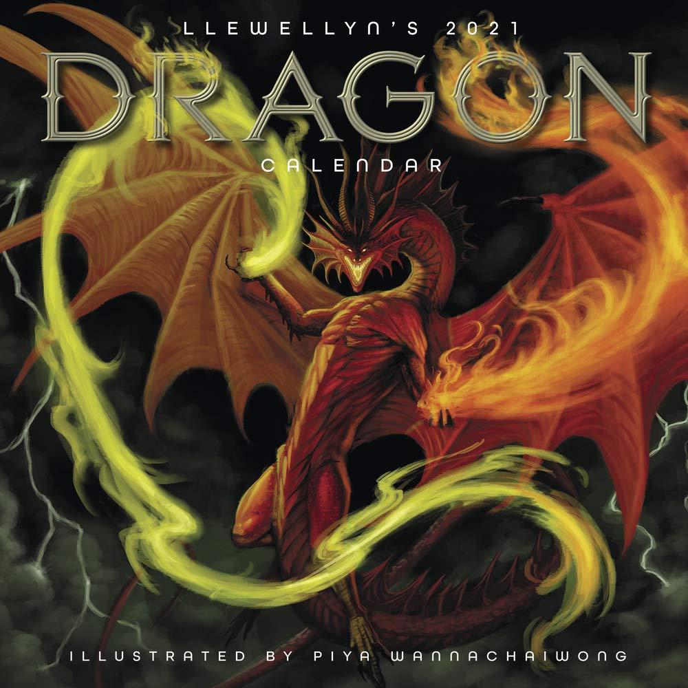Dragon Calendar 2021 Llewellyn's 2021 Dragon Calendar: Wannachaiwong, Piya, Llewellyn