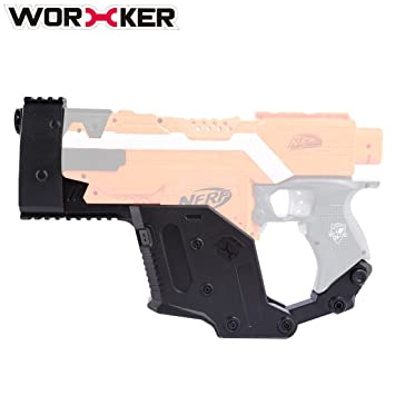 Christmas Toys Worker Lightweight Shoulder Stock Injection Mold  Professional Modification Accessory For Nerf N-strike Elite Toy Gun