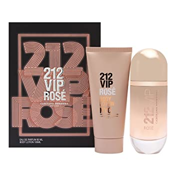 b314e74d14 Amazon.com   Carolina Herrera 212 VIP Rosé Gift Set 2.7oz (80ml) EDP Spray  + 3.4oz (100ml) Body Lotion   Beauty