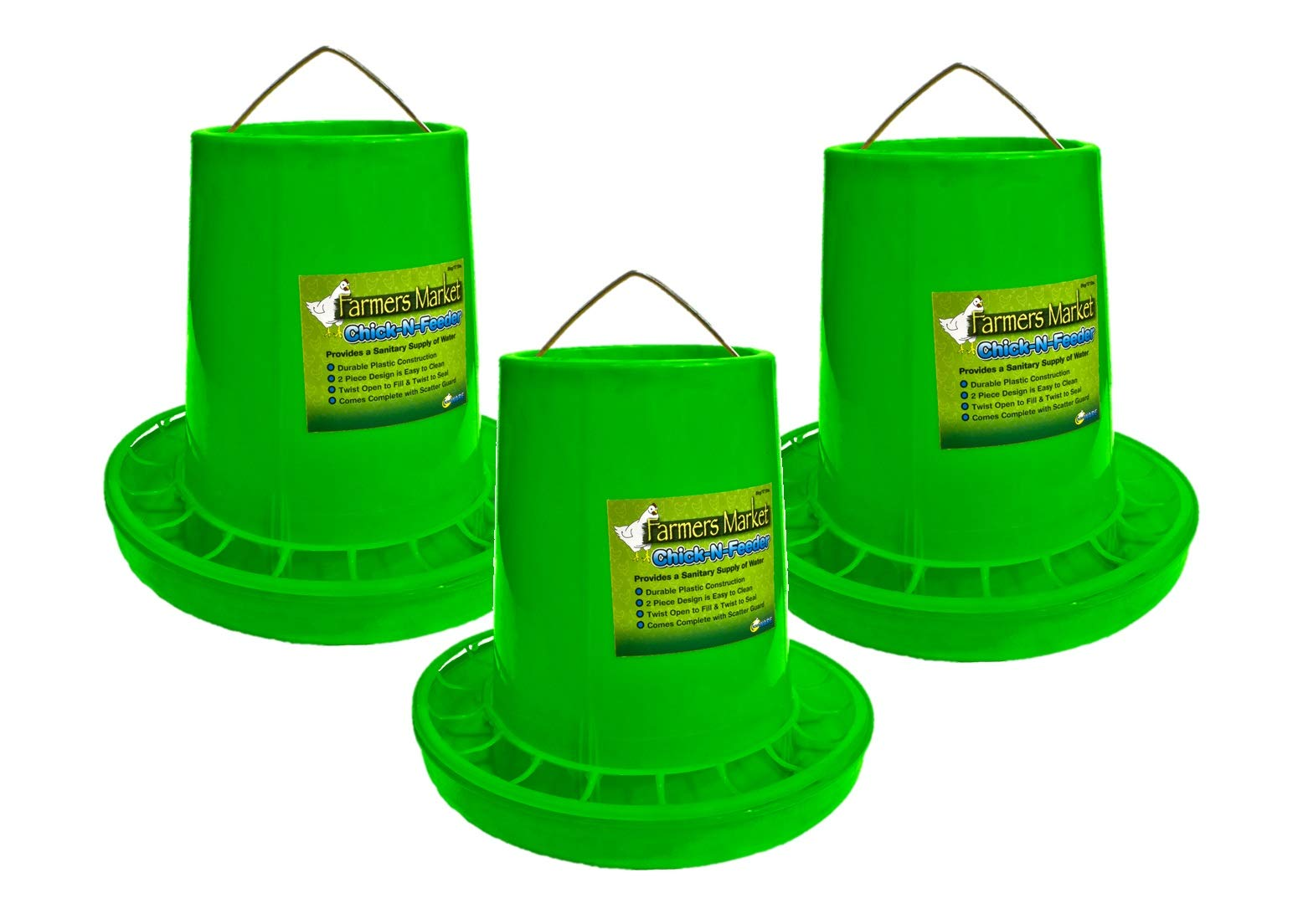 Ware Manufacturing 3 Pack of Chick-N-Feeders, Medium by Ware Manufacturing