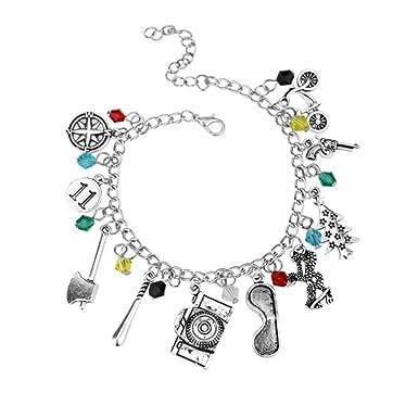 Review HedFord Stranger Things Themed Charm Bracelet