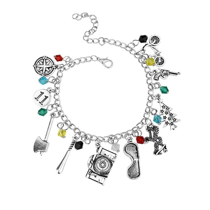 fd7f4933513df HedFord Stranger Things Themed Charm Bracelet