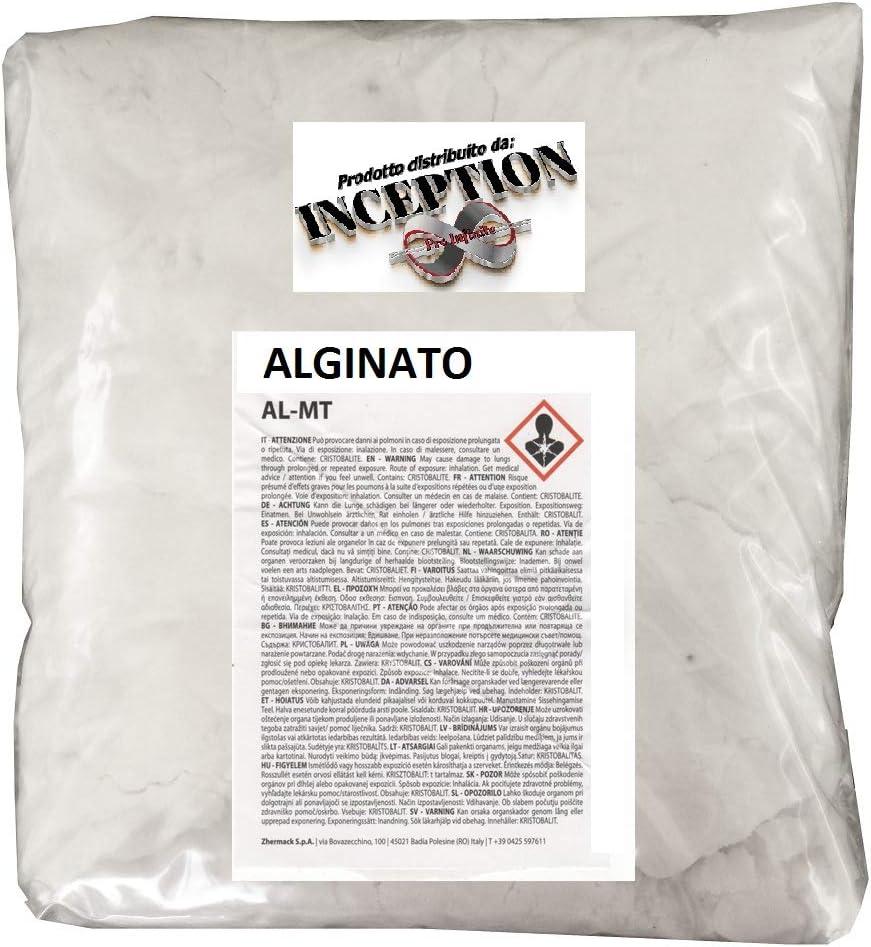 Inception Pro Infinite Alginato para moldes de Partes del Cuerpo - no tóxico - cantidad de su elección (100 g)