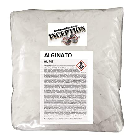 Inception Pro Infinite Alginato para moldes de Partes del Cuerpo - no tóxico - cantidad de