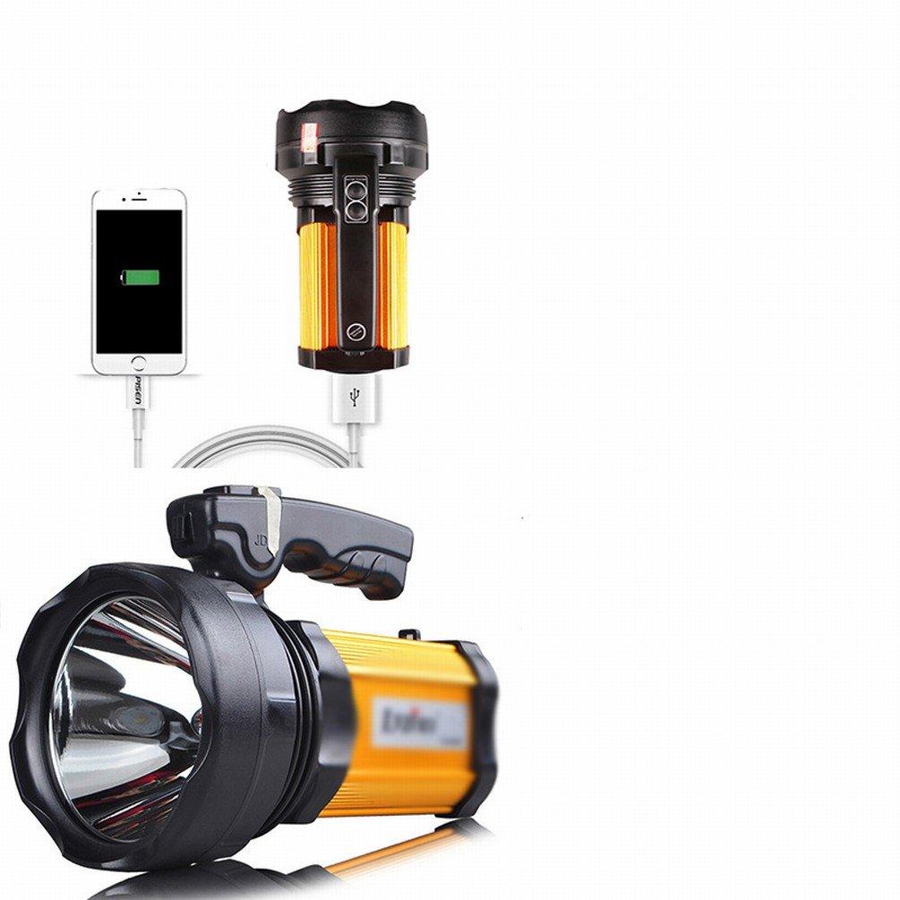 DEED Destacados Linterna Recargable Super Brillante Impermeable Hogar Al Aire Libre Camping Reflector de Largo Alcance,Figura: Amazon.es: Deportes y aire ...