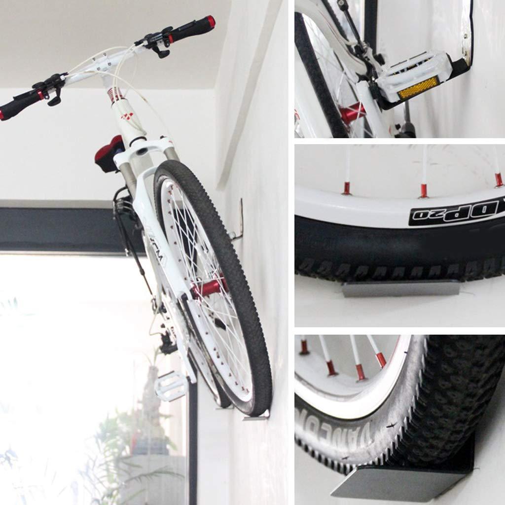 P Prettyia Juego de Soporte de Gancho para Exhibici/ón de Bicicleta en Pared con Tornillos de Montaje de Carga 120kg