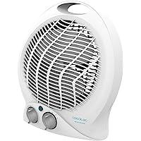 Cecotec Calefactor Eléctrico de Baño Bajo Consumo Ready Warm 9790 Force. 2000 W, Termostato Regulable, 2 Niveles, 3…