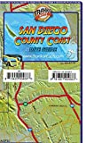 San Diego County Coast Dive & Adventure Map Franko Maps Waterproof Map