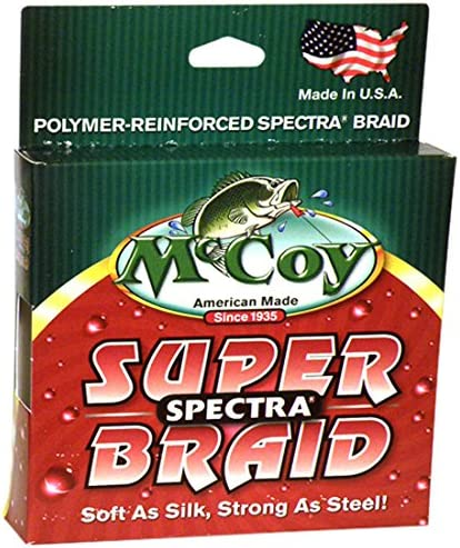 McCoy Fishing Super Spectra Braid Fishing Line