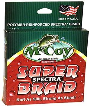 McCoy Fishing Super Spectra Braid Fishing Line