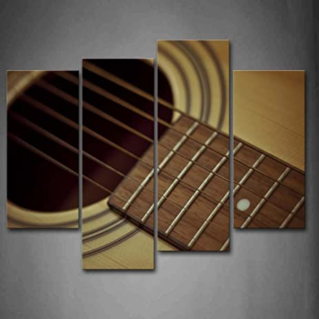 Amazon.com: First Wall Art - Guitar Chords And A Hole In Circle Wall ...