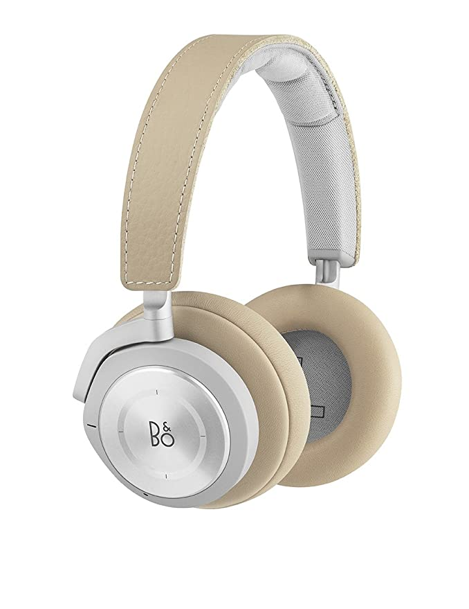 Bang & Olufsen Beoplay H9i Wireless Bluetooth Over Ear Headphones With Active Noise Cancellation, Transparency Mode And Microphone   Natural by Bang & Olufsen