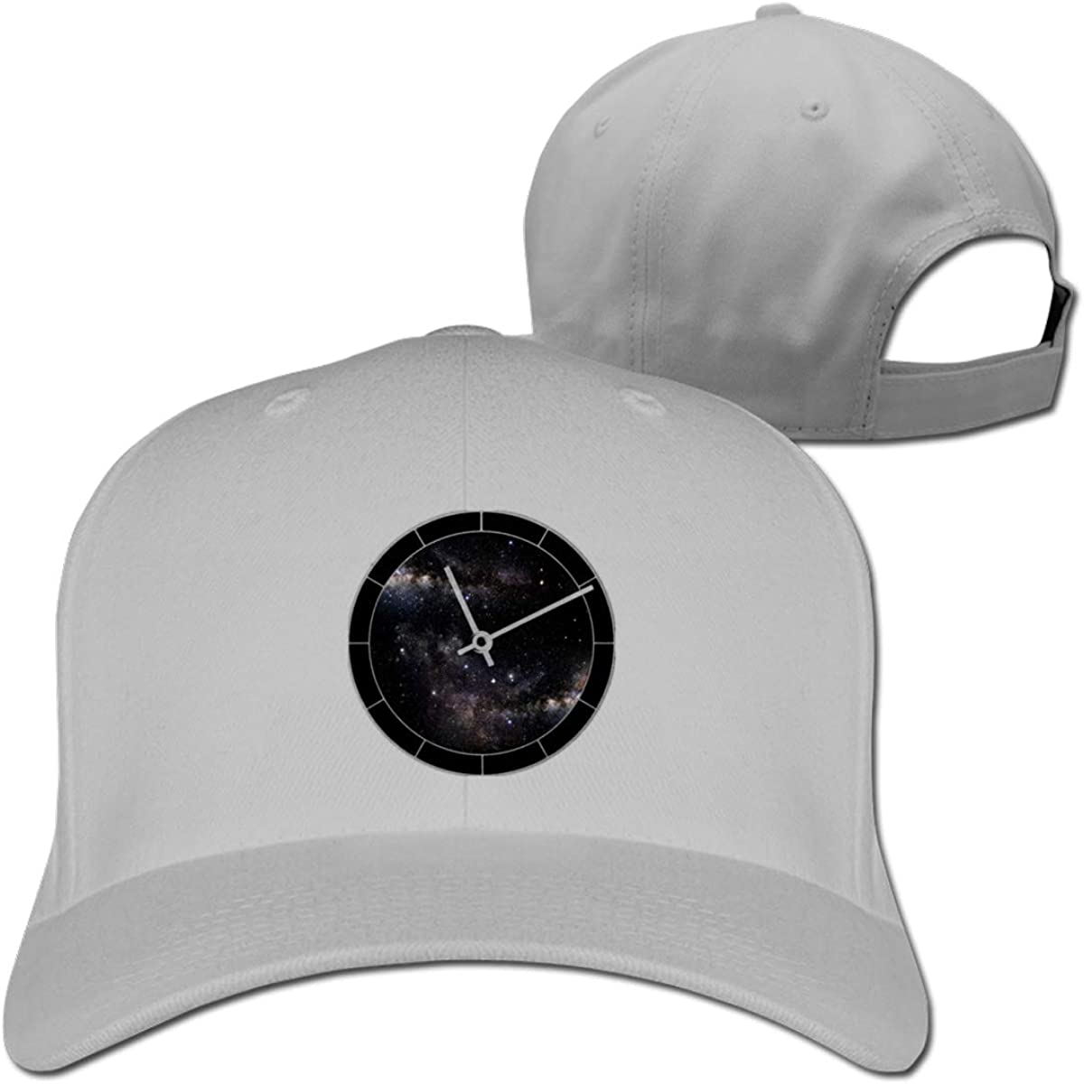 Time and Space Fashion Adjustable Cotton Baseball Caps Trucker Driver Hat Outdoor Cap Gray