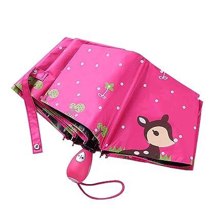 Plegables Paraguas Equipo para Lluvia de 4-12 años Paraguas ...