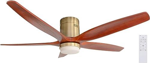 Handmademaster Solid Wooden Ceiling Fan