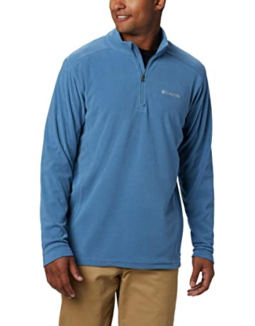 McKinley Uomo per il tempo libero outdoor escursioni a piedi manica lunga Top CURRA di lana blu