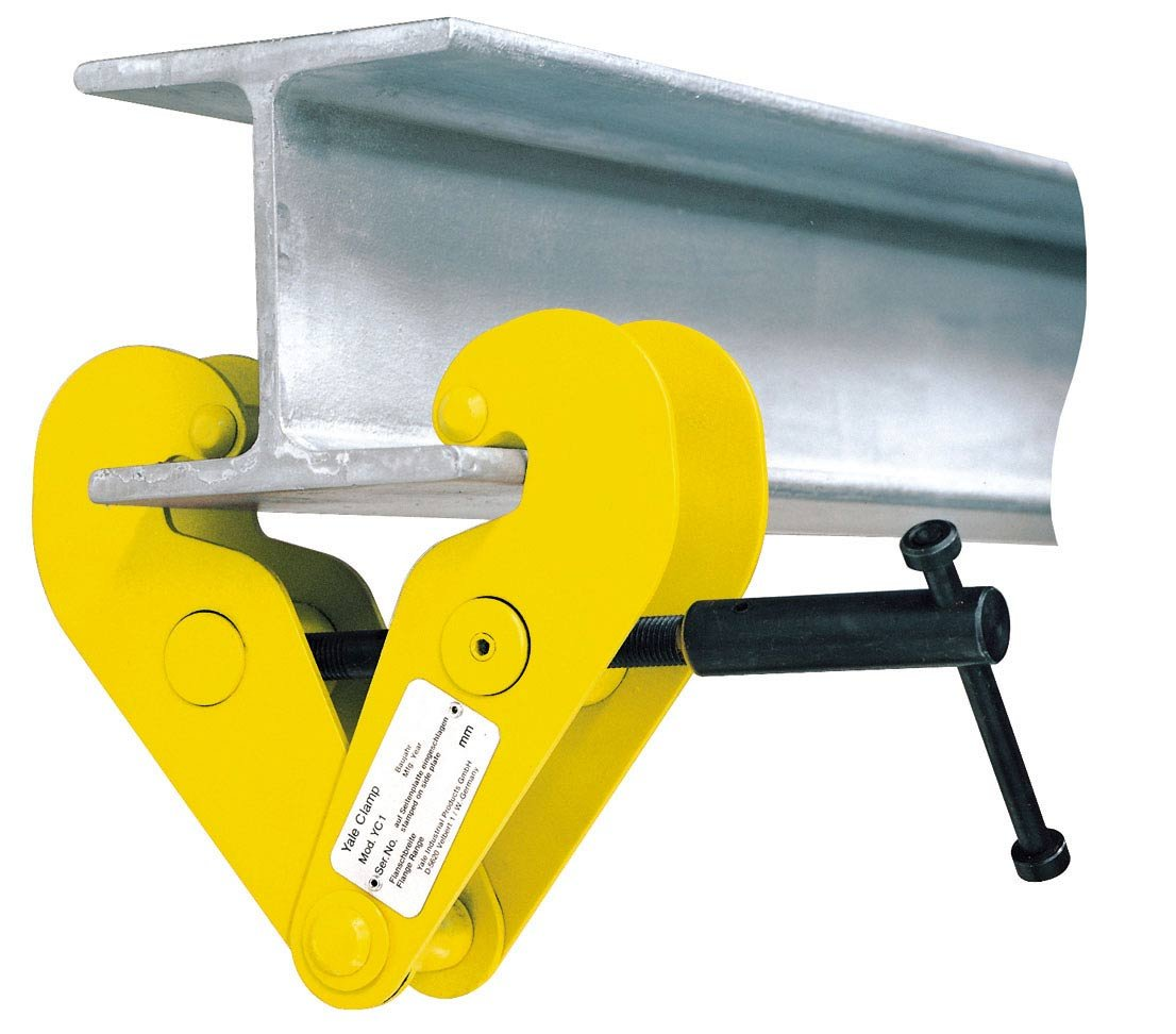 Yale YC1 Standard Beam Clamp, 1.0t, Beam Width: 75 mm-230 mm CMCO (Yale) AMZ1022745