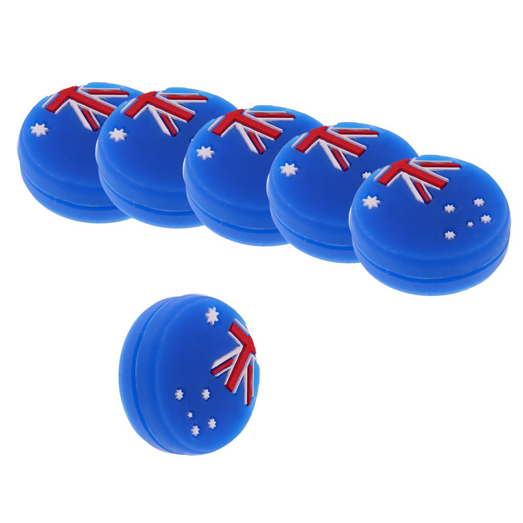 Choice of Color MonkeyJack Silicone Vibration Dampeners for Tennis Squash Racket