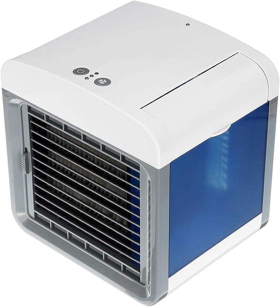 Keepwin🍒Enfriamiento Fresco Mini Enfriador Portátil USB Aire Acondicionado con 3 en 1 Ventilador Purificador Humidificador, 3 Velocidades Ajustable y Botón Táctil para Hogar Oficina Coche (Blanco): Amazon.es: Ropa y accesorios