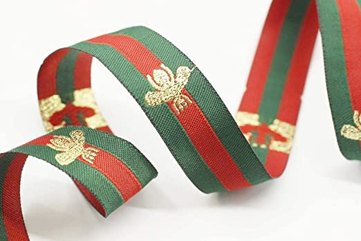 10mtrs EMBROIDERED RIBBON TRIM**25mm**
