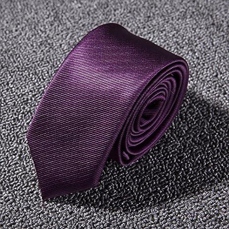 GENTLEE TIE Los Hombres Trajes de Vestir Corbata versión Estrecha ...